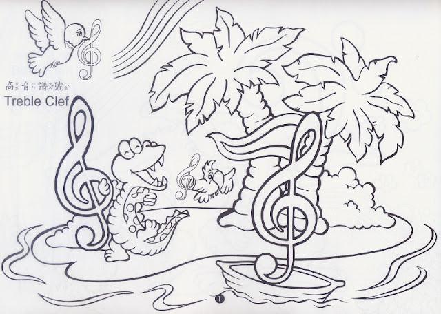 音乐活动简笔画