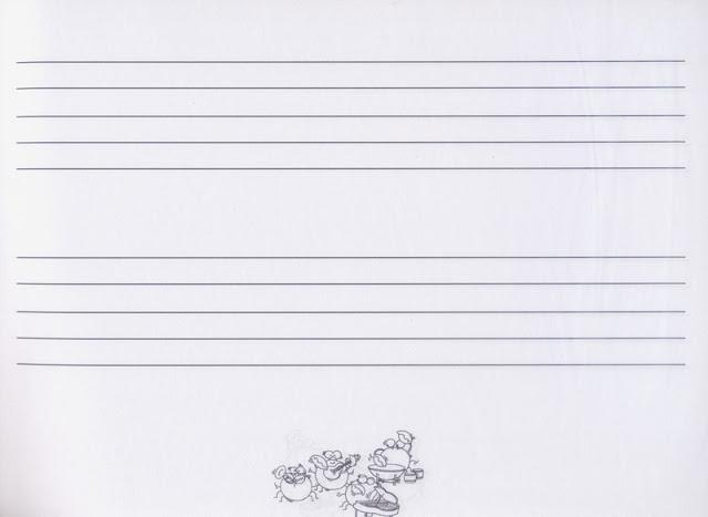 空白五线谱2行 - 小新乐器馆 sc.com.tw | 台湾乐器第