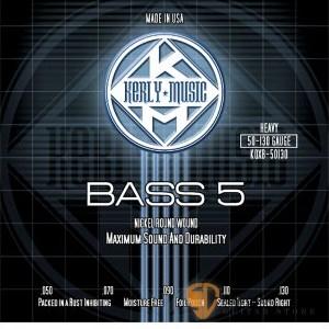 Bass弦►Kerly 冰火弦 KQXB-50130 美製 5弦電貝斯弦  (50-130)