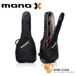 mono木吉他袋 | MONO M80 新款木吉他袋 Vertigo黑色-民謠吉他袋/軍事化防震防潑水 M80-VAD-BLK