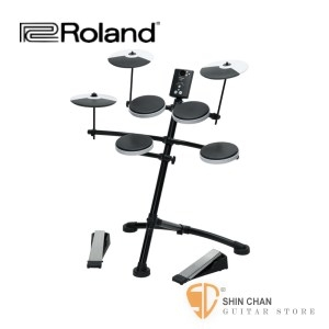 電子鼓 ► Roland 樂蘭 TD-1K 電子套鼓 附原廠踏板/鼓椅/鼓棒【V-Drums/TD1K】另贈獨家好禮
