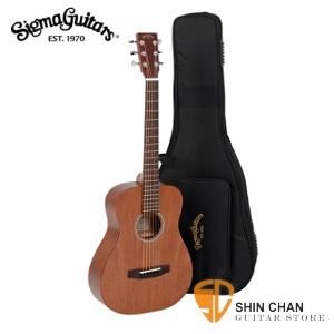 sigma木吉他▻ Sigma TM-15 小吉他/baby吉他/旅行吉他 34吋(TM15 全桃花心木/面單板) 附Sigma吉他袋【源自Martin製琴工藝】