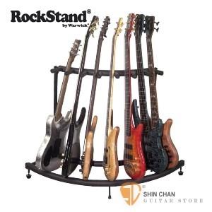 吉他架►RockStand 7支弧型架 【電吉他/電貝斯/民謠吉他/古典吉他/木吉他皆可放】