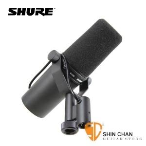 專業麥克風> 美國專業品牌 SHURE SM7B 人聲專用 動圈式 麥克風【演講/錄音室/廣播專用】