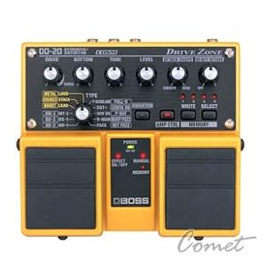 BOSS OD-20 Guitar Effects Pedal/雙踏板效果器/Drive Zone/另贈原廠變壓器/OD20