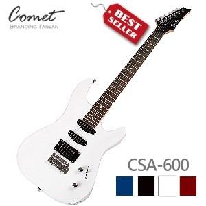 Comet CSA-600 小搖桿電吉他【音色與手感兼具】(單單雙)拾音器(附Comet原廠吉他袋、導線、Pick、調琴工具)