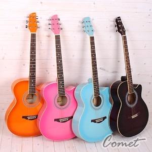 Comet吉他►Comet C-540 粉彩民謠吉他 (學生款銷售冠軍)【Comet民謠吉他專賣店/C540】