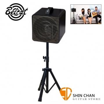 韓國品牌 Belcat Busker Box 街頭藝人專用音箱40瓦/藍牙/可充電/攜帶型音箱(限時優惠送喇叭立架、音箱外出攜袋、導線×1條)多功能適木吉他、電吉他、歌唱、電子琴(黑色款)/台灣公司貨保固1年