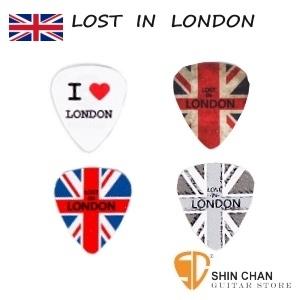 Comet 英國倫敦Lost in London 獨家限量設計Pick組(一組4片)