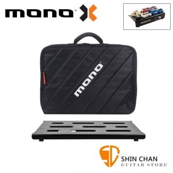 美國 MONO PEDALBOARD SMALL 黑色小型效果器盤 +  CLUB 2.0 小型效果器袋 軍事化防震防潑水【PFX-PB-S-BLK】
