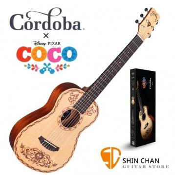 【獨家】《可可夜總會》迪士尼.皮克斯 Disney • Pixar Coco x Cordoba  Mini Spruce 雲杉木小吉他/古典吉他(34吋)附贈cordoba吉他袋/台灣公司貨