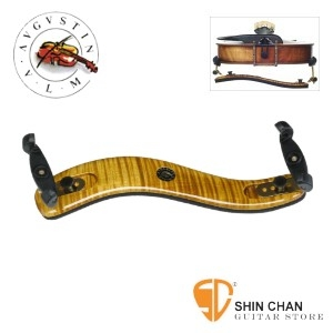肩墊 ▻ VLM AUGUSTIN PROFESSIONAL 楓木小提琴肩墊 (GOLD) 3/4 4/4 適用【Maple Wood】