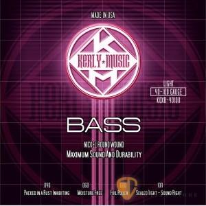 Bass弦►Kerly 冰火弦 KQXB-40100 美製電貝斯弦 (40-100)