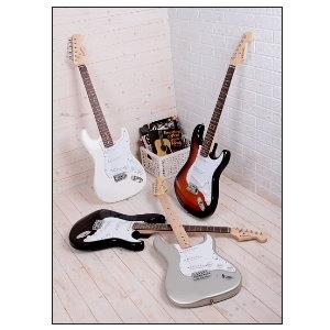comet 電吉他► Comet 超值 ST 1電吉他(贈電吉他袋、Pick、吉他背帶、導線)暢銷評價好
