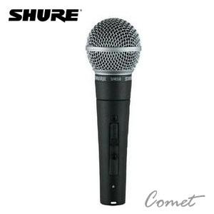 主唱必備*美國專業品牌 SHURE SM58S (有開關) 動圈式麥克風/SM58 S/總代理一年保固/原廠防偽雷射標