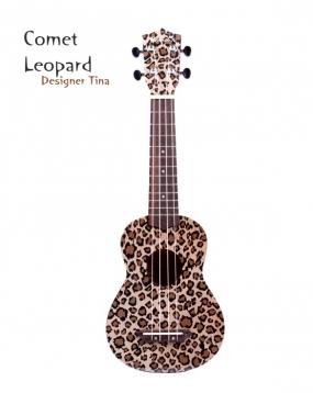 Comet 限量豹紋(Leopard) 21吋烏克麗麗 Ukulele(附贈烏克麗麗袋)