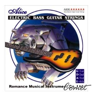 Alice A606M 貝斯弦(合金纏弦)45-105【貝斯弦專賣店/進口貝斯弦/A-606M】