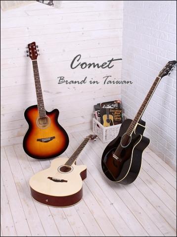 Comet C-350 切角民謠吉他 木吉他 39吋 C350