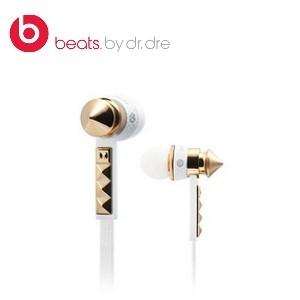 美國原裝進口 Monster 魔聲 BeatsLady Gaga The Heartbeats 2.0 白色-鉚丁新款/耳塞式耳機