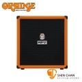 Orange CRUSH BASS 100 100瓦電貝斯音箱 原廠公司貨 一年保固【音箱專賣店/英國大廠品牌/橘子音箱】