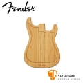 Fender 原木砧板 STRAT CUTTING BOARD 電吉他造型砧板/切菜板