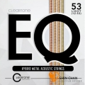 CLeaRTone EQ(0.12-0.53)美製民謠吉他弦/木吉他弦 混合金【CLeaRTone吉他弦專賣店/進口弦/7812】