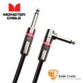 monster導線 | Monster CLAS-I-21A 一直一L頭 錄音室等級 樂器專用導線 21呎 (630公分)【吉他/貝斯/鍵盤/電子鼓/監聽喇叭/電子樂器專用】/ 喇叭線