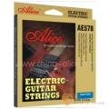 Alice AE578SL 高級鍍金高碳鋼絲光弦 電吉他弦 (09-42)【Alice吉他弦專賣店/進口吉他弦】