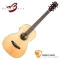 Baby吉他 ►Breedlove 美國品牌手工製 Parlor 小吉他 可插電單板 旅行吉他(型號:Passport Parlor)原木色 PPP21E