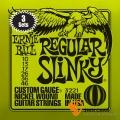 ERNIE BALL 3221 老鷹牌-綠 電吉他弦(0.10~0.46)三套裝【電吉他弦專賣店/進口弦】