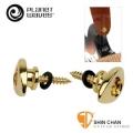Planet Waves 鍍金 END PIN 安全背帶釘 專利安全背帶釘好扣,吉他/電吉他/貝斯/烏克麗麗【PWEEP302】