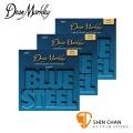 Dean Markley 2034-3PK 黃銅 民謠吉他弦 Blue Steel  11 - 52 /台灣公司貨 三包組