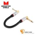 短導線 ▷ Monster SP2000-I-0.75DA  錄音室等級 效果器專用短導線 22公分
