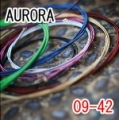 AURORA 美國進口紅色電吉他弦(09-42)【AURORA進口弦專賣店/電吉他弦】