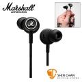 英國 Marshall Mode 智慧型手機專用耳機-耳塞式/耳道式(可線控/通話麥克風MIC)iPhone/Android