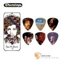 Dunlop 吉米漢克斯-白款 吉他大師系列彈片 附原廠彩繪盒(12片裝) 【Jimi Hendrix Hear Music/JHPT07M】