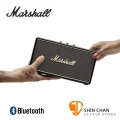 英國 Marshall Stockwell 攜帶式藍牙喇叭(不含原廠皮套)經典黑色Black /可當行動電源/公司貨保固 送獨家英國倫敦吉他Pick組