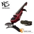 電小提琴▻ NS Design WAV-4 電子小提琴/靜音小提琴/電小提琴 紅色(WAV4 較CR4超值/適合學生初學)捷克設計/公司貨