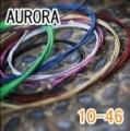 AURORA 美國進口橘色電吉他弦(10-46)【AURORA進口弦專賣店/電吉他弦】