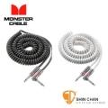 導線 ▷ Monster CLAS-I-21AC 高級鍋牛導線/電話捲線導線 一直頭一L頭【6.4公尺】
