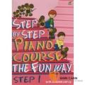 鋼琴初階N1.(Step by step) 附雙CD【適合幼兒邊學習英文邊練習指法的教材】