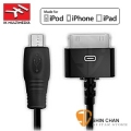 iRig台灣►iRig原廠線-蘋果30Pin線 30-pin to Micro-USB 線 (IK Multimedia iRig  公司貨)