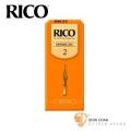 竹片►美國 RICO 高音 薩克斯風竹片 2號 Soprano Sax (25片/盒)【橘包裝】