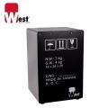 West 威斯特 W-Box(Black)限量黑-楓木製專利紙箱設計款 木箱鼓(台灣製Cajon/木鼓箱初學/教學/老師適用/台灣製造)木箱椅/限量黑
