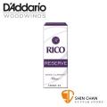 美國 RICO RESERVE  低音 豎笛/黑管 竹片 2.5號 Bass Clarinet (5片/盒)