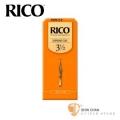 竹片►美國 RICO 高音 薩克斯風竹片 3.5號 Soprano Sax (25片/盒)【橘包裝】