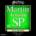 Martin MSP3600民謠吉他弦金弦(12弦吉他專用)【十二弦木吉他弦】
