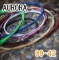 AURORA 美國進口橘色電吉他弦(09-42)【吉他弦專賣店/進口弦】