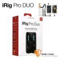 iRig台灣>  iRig Pro Duo 頂級行動錄音界面(義大利製)錄音室等級/錄音卡(支援 iPhone, iPad, Android 及 蘋果Mac/PC電腦)