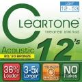CLeaRTone(0.12-0.53)頂級民謠弦(黃銅)【CleaR Tone吉他弦專賣店/進口弦/7612】